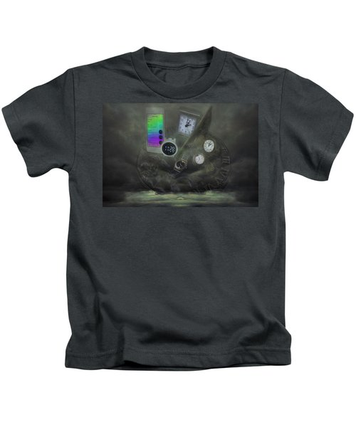 Through The Mists Of Time Kids T-Shirt