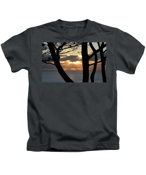 Through The Trees Kids T-Shirt