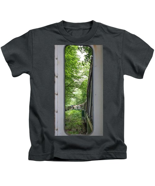 Through The Window Kids T-Shirt