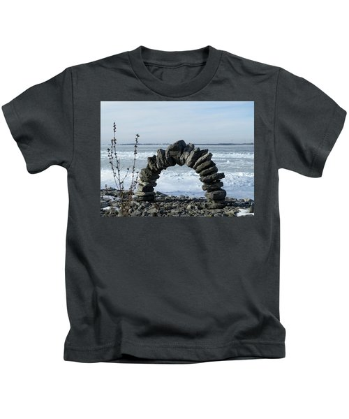 Tibbetts Point Arch Kids T-Shirt