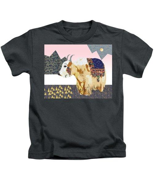 Tibet Yak Collage Kids T-Shirt