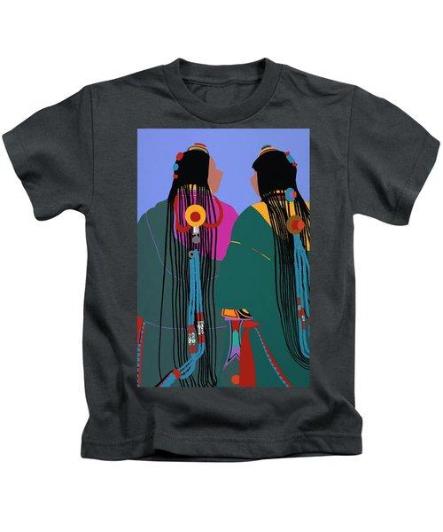 Tibetan Women Kids T-Shirt