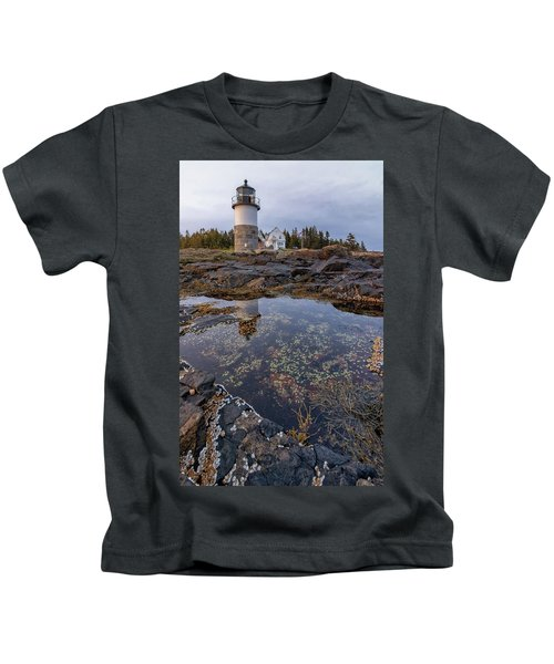 Tide Pools At Marshall Point Lighthouse Kids T-Shirt