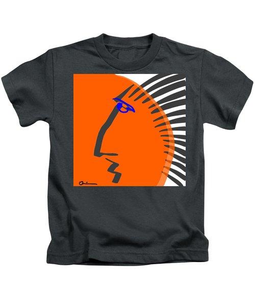 Tiger Man Kids T-Shirt