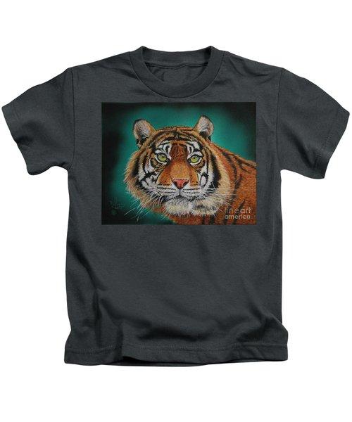 Tiger Portrait......amur Tiger Kids T-Shirt