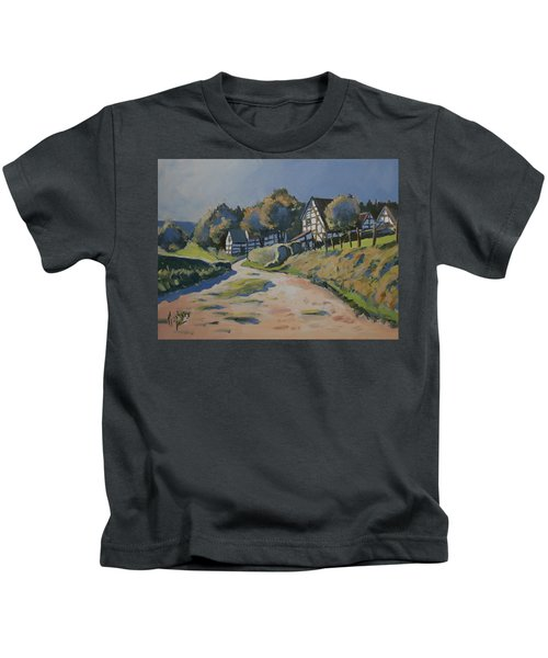 Timbered Houses In Terziet Kids T-Shirt