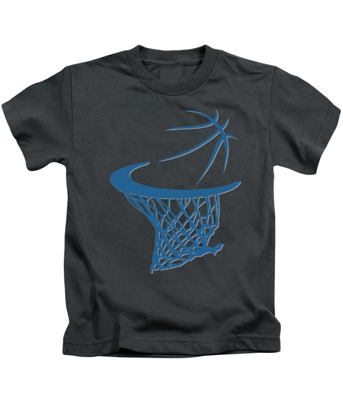 Timberwolves Basketball Hoop Kids T-Shirt