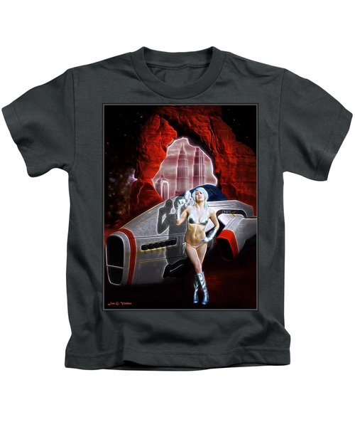 Time And Space Portal Kids T-Shirt