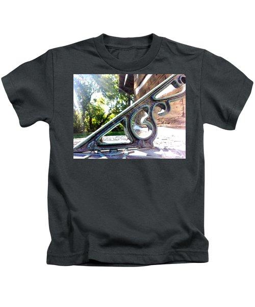 Time At An Angle Kids T-Shirt