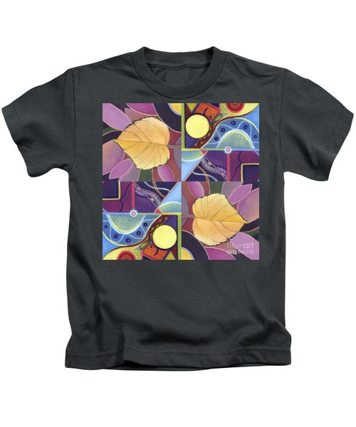 Time Goes By - The Joy Of Design Series Arrangement Kids T-Shirt