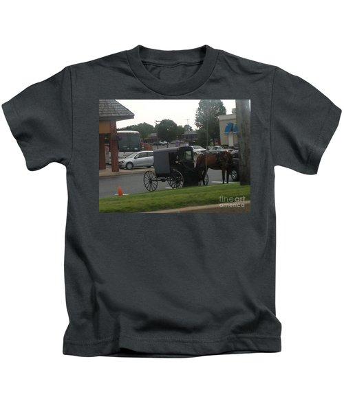 Time To Shop Kids T-Shirt