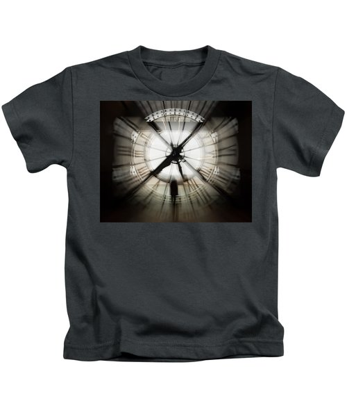 Time Waits For None Kids T-Shirt