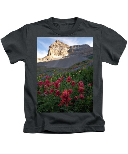 Timpanogos Paintbrush Kids T-Shirt