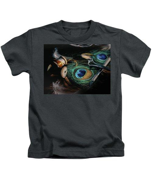 Tinsel Rust Nymph Kids T-Shirt