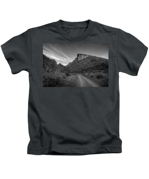 Titus Canyon Road Kids T-Shirt