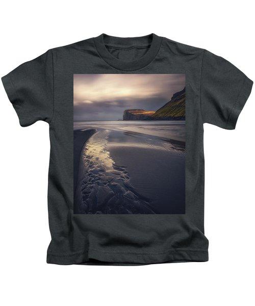 Tjornuvik Beach Kids T-Shirt