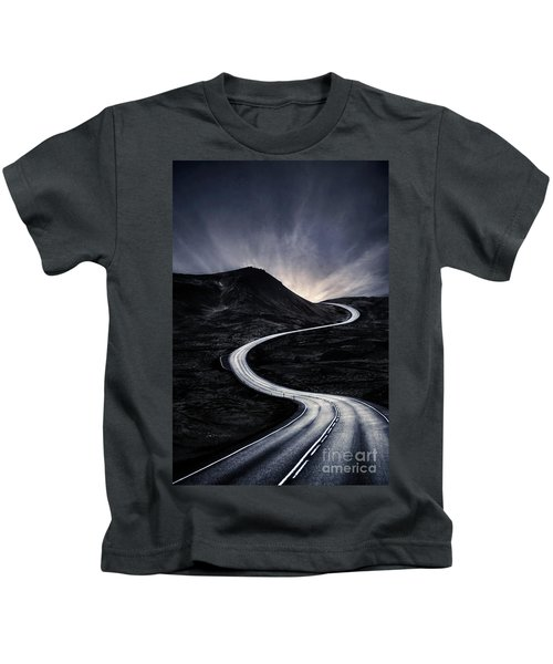 To Where The Darkness Ends Kids T-Shirt
