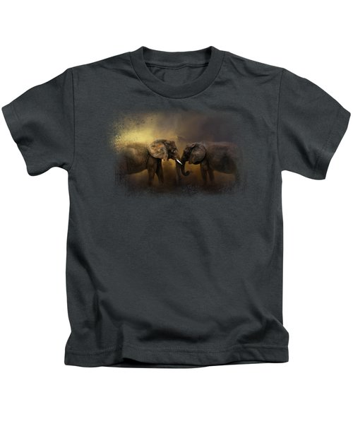 Together Through The Storms Kids T-Shirt