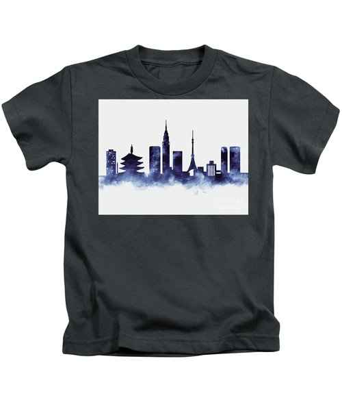 Tokyo Skyline Kids T-Shirt