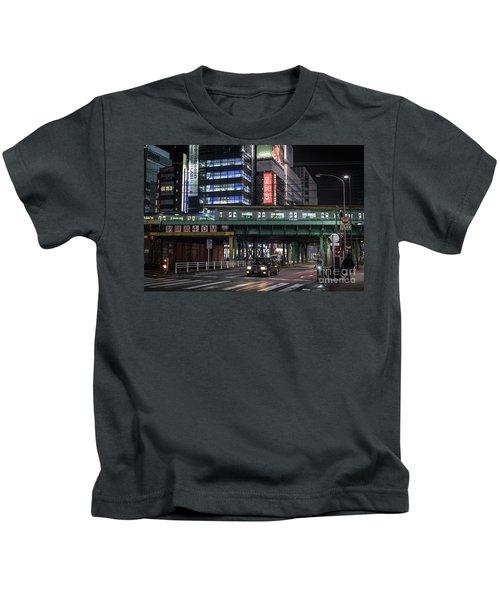 Tokyo Transportation, Japan Kids T-Shirt