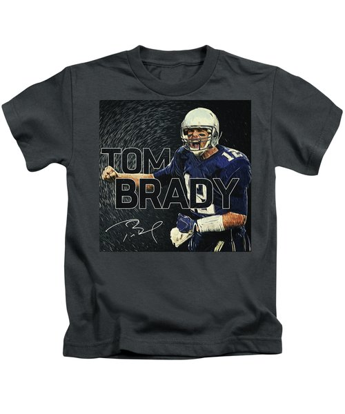 Tom Brady Kids T-Shirt