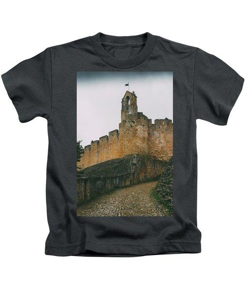 Tomar Castle, Portugal Kids T-Shirt