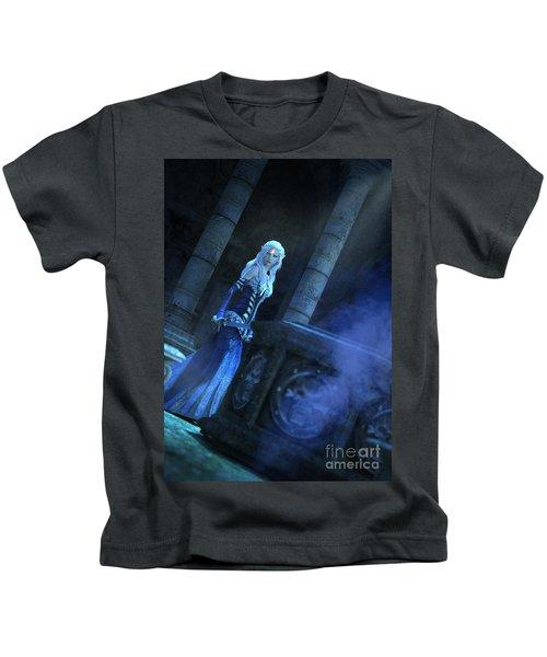 Tomb Of Shadows Kids T-Shirt