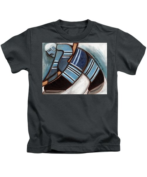 Toronto Hockey Player Art Print Kids T-Shirt