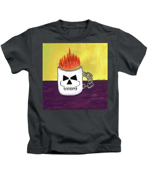 Too Hot To Handle Kids T-Shirt