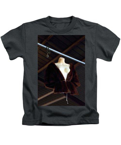 Top Fur Coat Kids T-Shirt