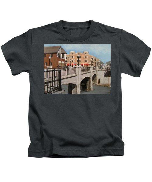 Tosa Village Bridge Kids T-Shirt