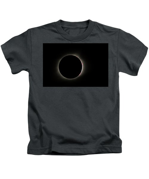 Total Eclipse Solar Flares Kids T-Shirt