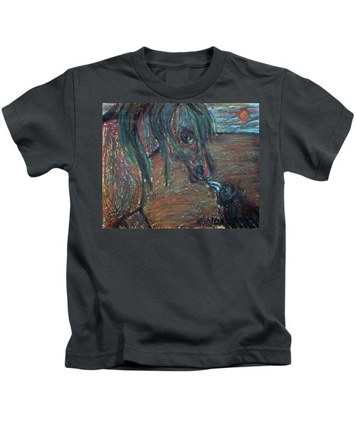 Touching Noses Kids T-Shirt