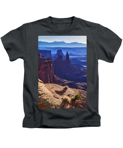 Tower Sunrise Kids T-Shirt