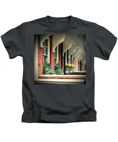 Townhouse Row - London Kids T-Shirt