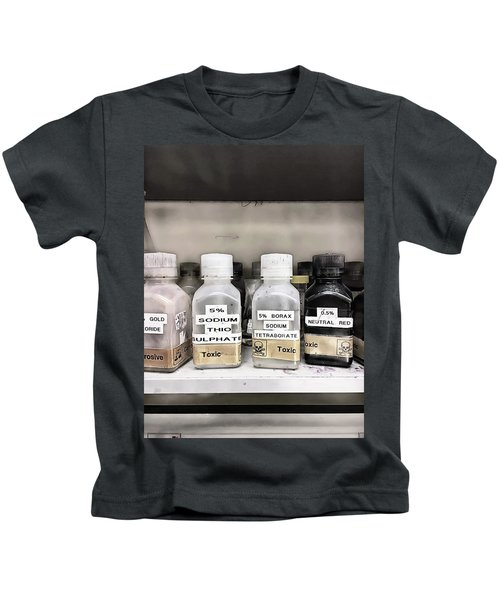 Toxic Lab Chemicals Kids T-Shirt