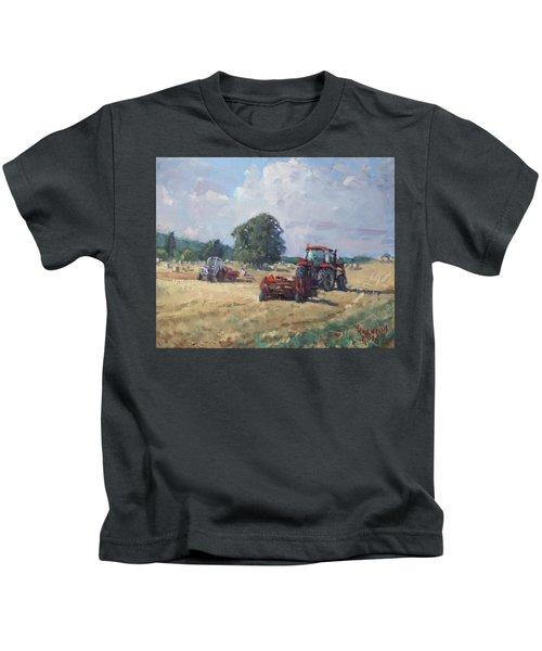 Tractors In The Farm Georgetown Kids T-Shirt