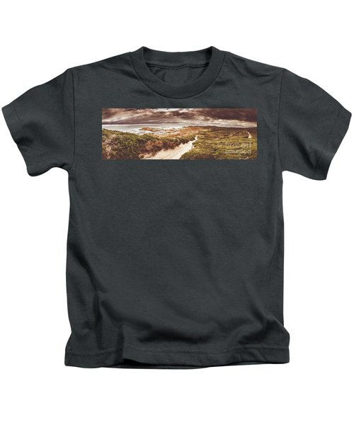 Trail To Western Tasmania Kids T-Shirt