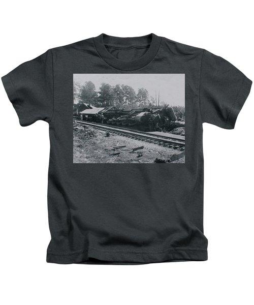 Train Derailment Kids T-Shirt