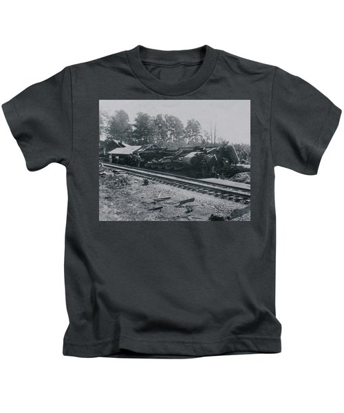 Train Derailment Kids T-Shirt