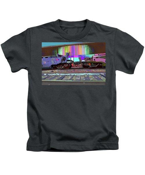 Train Parked Kids T-Shirt