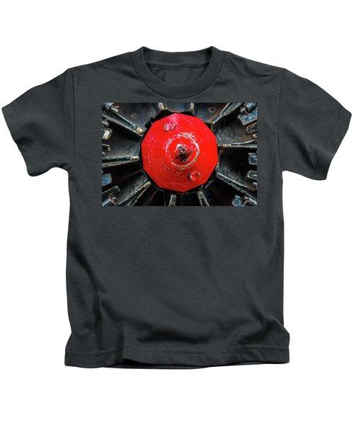 Train Prop Center Kids T-Shirt