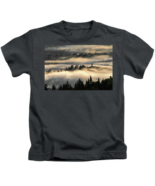 Trees In The Clouds Kids T-Shirt