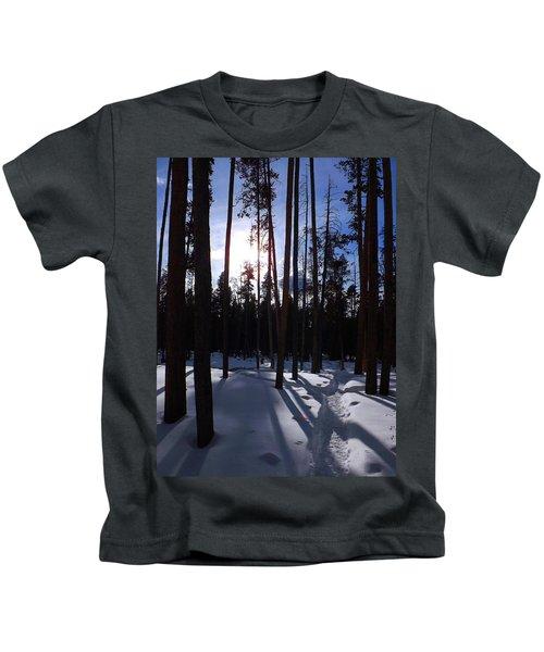 Trees In Winter Kids T-Shirt