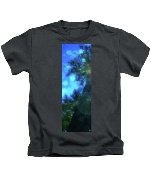Trees Left Kids T-Shirt
