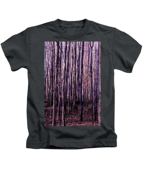 Treez Magenta Kids T-Shirt