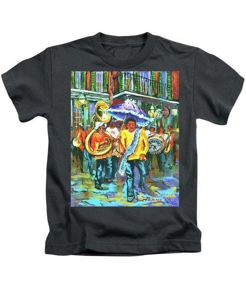 Treme Brass Band Kids T-Shirt