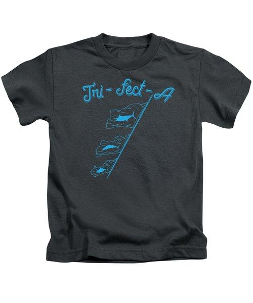Tri-fect-a Kids T-Shirt