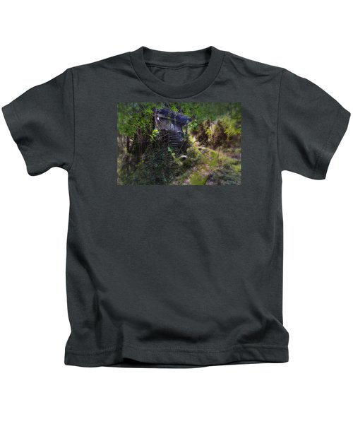 Trolley Bus Into The Jungle Kids T-Shirt