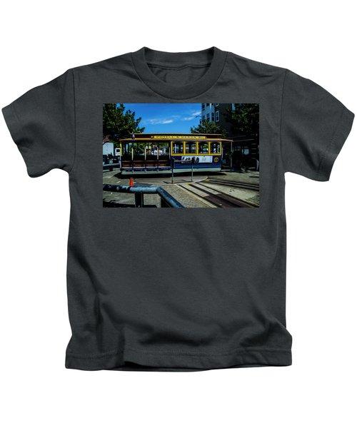 Trolley Car Turn Around Kids T-Shirt